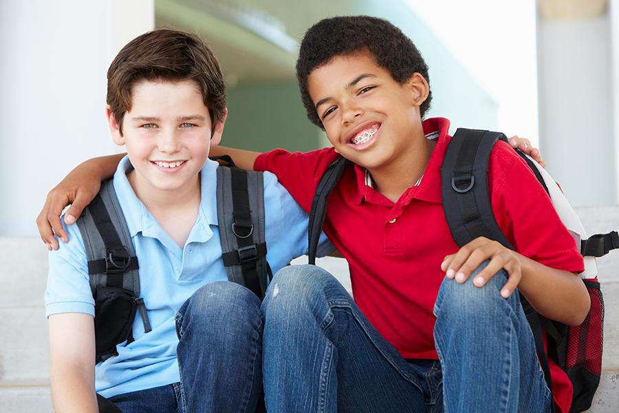 Pre-Teens in Braces